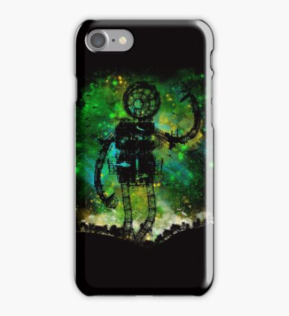 mad robot iPhone Case/Skin