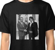 Nixon and Elvis Presley Classic T-Shirt