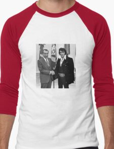 Nixon and Elvis Presley Men's Baseball ¾ T-Shirt