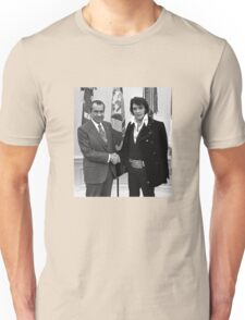 Nixon and Elvis Presley Unisex T-Shirt