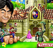 Thank you Miyamoto - Nintendo by worldcollider
