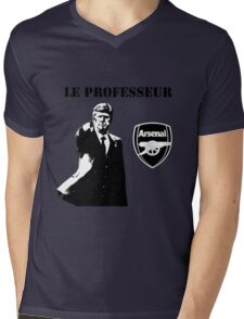 Arsene Wenger - Le Professeur - Arsenal Mens V-Neck T-Shirt