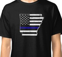 Arkansas Thin Blue Line Police Classic T-Shirt