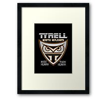 Tyrell Corporation Genetic Replicants  Framed Print