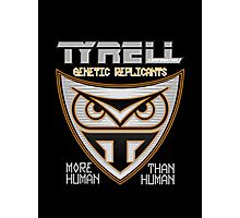Tyrell Corporation Genetic Replicants  Photographic Print