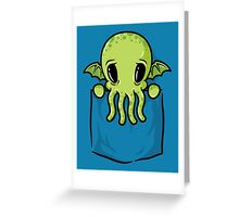 Pocket Cthulhu Greeting Card