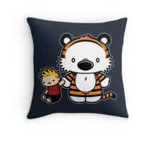 Hello Tiger Throw Pillow
