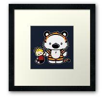 Hello Tiger Framed Print