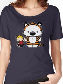 Hello Tiger Women's Relaxed Fit T-Shirt