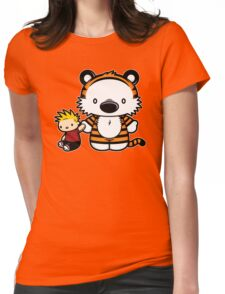 Hello Tiger Womens Fitted T-Shirt