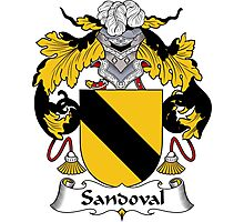 Sandoval Coat of Arms/Family Crest Photographic Print