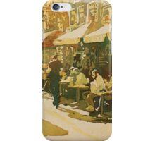 Cafe Snapshot iPhone Case/Skin