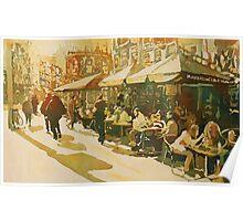 Cafe Snapshot Poster