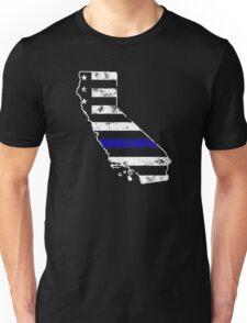 California Thin Blue Line Police Unisex T-Shirt