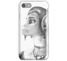 The Appraising Eye iPhone Case/Skin