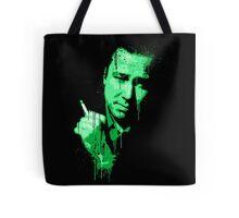 Bill Hicks (green) Tote Bag