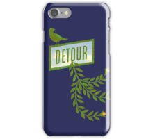 Detour Summer Journey iPhone Case/Skin