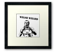 Gareth Bale - Welsh Wizard Framed Print