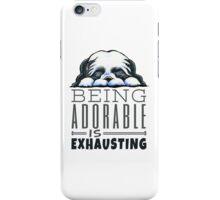 Shih Tzu Being Adorable iPhone Case/Skin