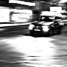 speeding car  by Yannis-Tsif