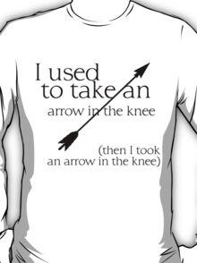 Arrow in the knee - 1 T-Shirt