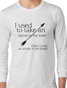 Arrow in the knee - 1 Long Sleeve T-Shirt