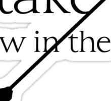 Arrow in the knee - 1 Sticker