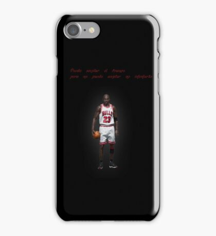 Michael Jordan - Basketball - Phrase iPhone Case/Skin
