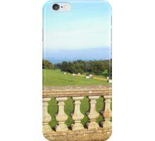 Balustrade at Osborne House iPhone Case/Skin