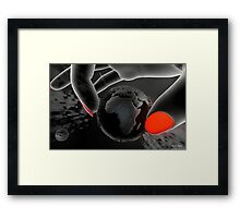 Piece of Earth Framed Print
