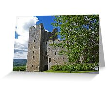 Bolton Castle Greeting Card