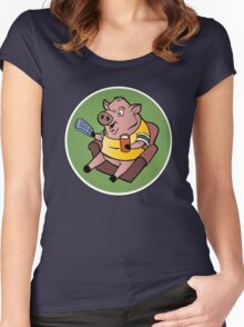 The Sports Pig Women's Fitted Scoop T-Shirt