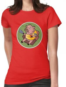 The Sports Pig Womens Fitted T-Shirt