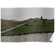 Old graveyard Poster