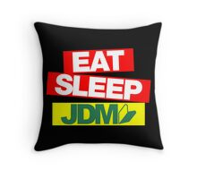 Eat Sleep JDM wakaba (1) Throw Pillow