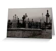Old graveyard 2 Greeting Card