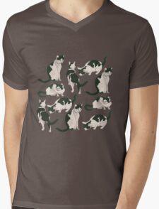 Crazy About Cats Mens V-Neck T-Shirt