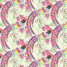 Paper Cut Birds [light] by Lydia Meiying