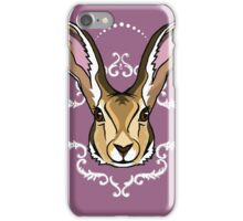 Hare Brained iPhone Case/Skin