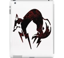 Faded Fox iPad Case/Skin