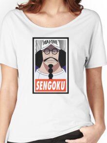 (ONE PIECE) Sengoku Women's Relaxed Fit T-Shirt