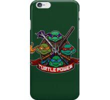 Turtle Power! iPhone Case/Skin