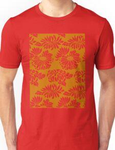 Japanese Flowers Pattern Unisex T-Shirt