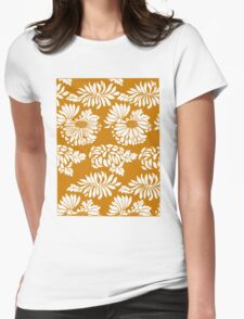 Japanese Flowers Pattern T-Shirt