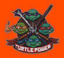 Turtle Power! Kids Tee