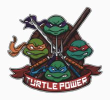 Turtle Power! Kids Tee