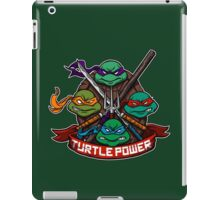 Turtle Power! iPad Case/Skin