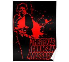The Texas Chainsaw Massacre (Transparent) Colour Poster