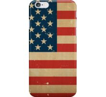 American Flag VINTAGE iPhone Case/Skin