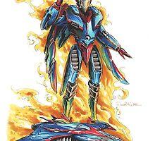 God Phoenix... Transform! by Mecha-Zone